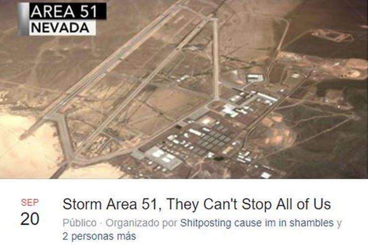 Asalto área 51
